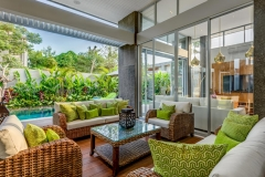 Villa Aramanis - Bamboo, Alfresco living space