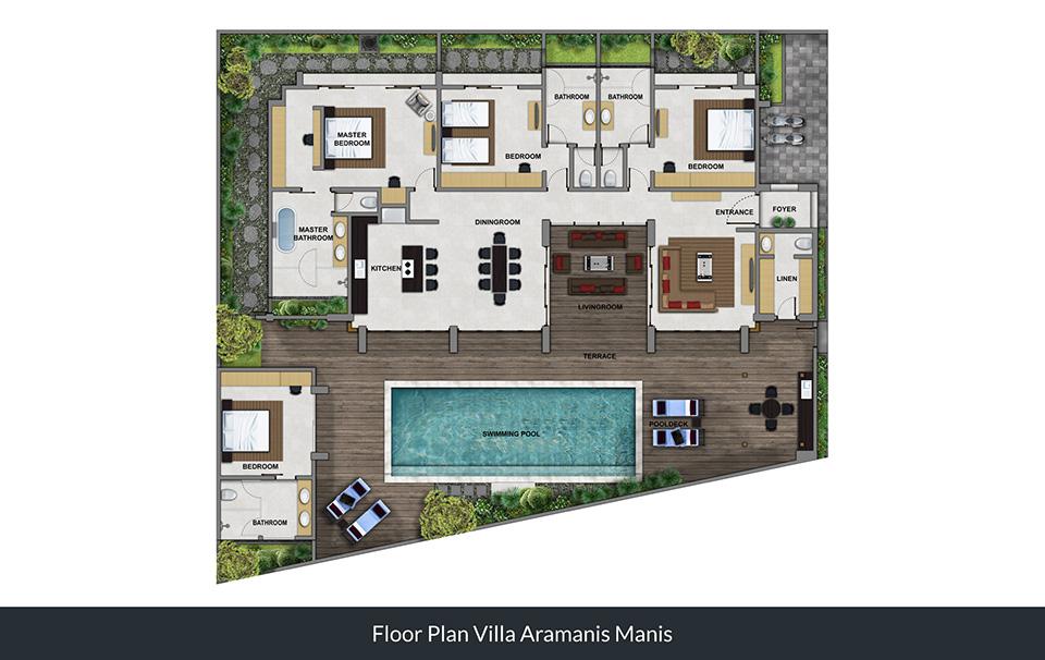 Floorplan Villa Manis