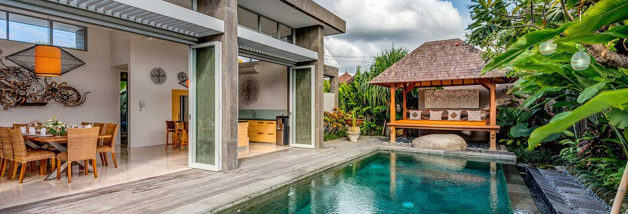 Luxury Two 3 Bedroom And Two 4 Bedroom Seminyak Villas Bali